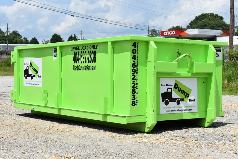 6 Yard Peachtree City Dumpster